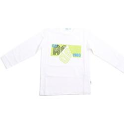 Oblečenie Deti Tričká s dlhým rukávom Melby 70C5524 Biely
