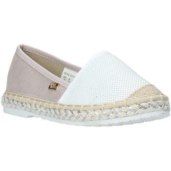 Topánky Dievčatá Espadrilky Miss Sixty S20-SMS704 Biely