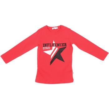 Oblečenie Deti Tričká s dlhým rukávom Melby 70C5615 Červená