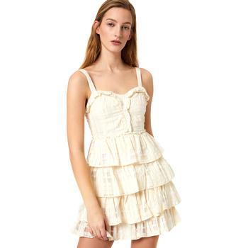 Oblečenie Ženy Krátke šaty Liu Jo FA0312 T4190 Biely