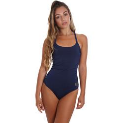 Oblečenie Ženy Plavky jednodielne Ea7 Emporio Armani 911029 CC417 Modrá