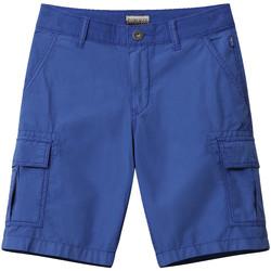 Oblečenie Deti Šortky a bermudy Napapijri NP0A4E4G Modrá
