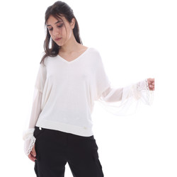 Oblečenie Ženy Blúzky Gaudi 011FD53007 Biely