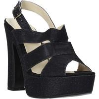 Topánky Ženy Sandále Esther Collezioni ELE 084 čierna