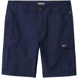 Oblečenie Muži Šortky a bermudy Napapijri NP0A4E1K Modrá