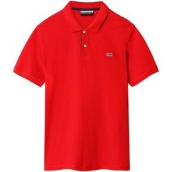 Oblečenie Muži Polokošele s krátkym rukávom Napapijri NP0A4EGD Červená