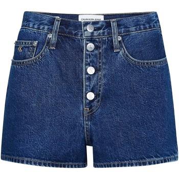 Oblečenie Ženy Šortky a bermudy Calvin Klein Jeans J20J213866 Modrá