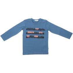 Oblečenie Deti Tričká s dlhým rukávom Melby 70C5524 Modrá