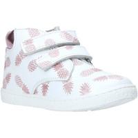 Topánky Dievčatá Členkové tenisky Melania ME0958A0S.B Biely