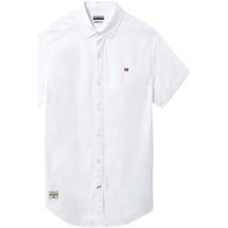 Oblečenie Muži Košele s krátkym rukávom Napapijri NP0A4E2T Biely