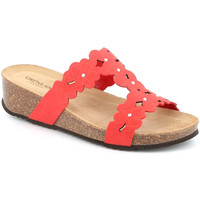 Topánky Ženy Šľapky Grunland CB2491 Červená