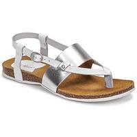 Topánky Ženy Sandále Kickers ANAGRAMI Biela / Strieborná