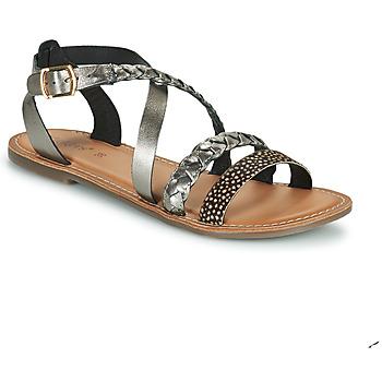 Topánky Ženy Sandále Kickers DIAPPO Bronzová
