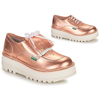 Topánky Ženy Derbie Kickers KICKOUCLASS Ružová / Metalická