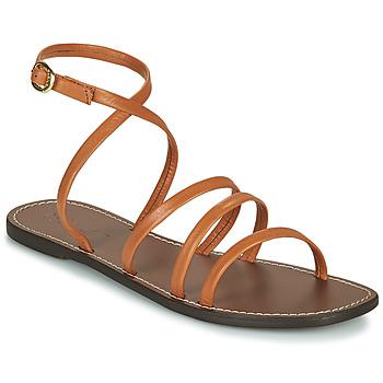 Topánky Ženy Sandále Kickers KICKNICE Ťavia hnedá