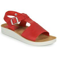 Topánky Ženy Sandále Kickers ODILOO Červená
