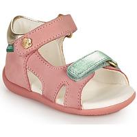 Topánky Dievčatá Sandále Kickers BINSIA-2 Ružová