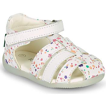 Topánky Dievčatá Sandále Kickers BIGFLO-2 Biela