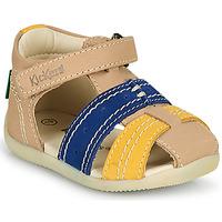 Topánky Chlapci Sandále Kickers BIGBAZAR-2 Námornícka modrá