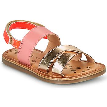 Topánky Dievčatá Sandále Kickers DYACROSS Ružová