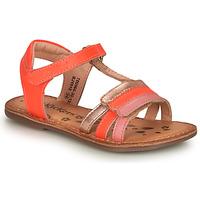 Topánky Dievčatá Sandále Kickers DIAMANTO Ružová