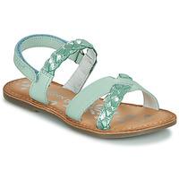 Topánky Dievčatá Sandále Kickers DIMDAMI Modrá