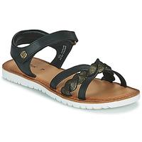 Topánky Dievčatá Sandále Kickers BETTYL Čierna