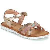 Topánky Dievčatá Sandále Kickers BETTYL Ružová