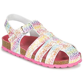 Topánky Dievčatá Sandále Kickers SUMMERTAN Biela