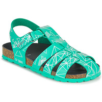 Topánky Chlapci Sandále Kickers SUMMERTAN Zelená