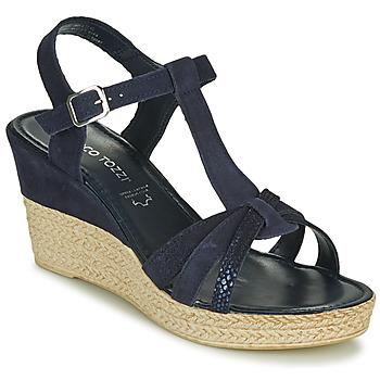 Topánky Ženy Sandále Marco Tozzi ANNA Námornícka modrá
