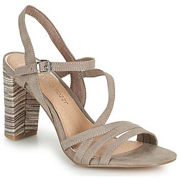 Topánky Ženy Sandále Marco Tozzi BALEINA Béžová