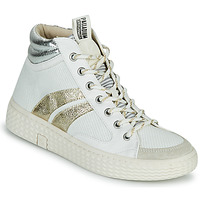 Topánky Ženy Členkové tenisky Palladium Manufacture TEMPO 03 TXT Biela