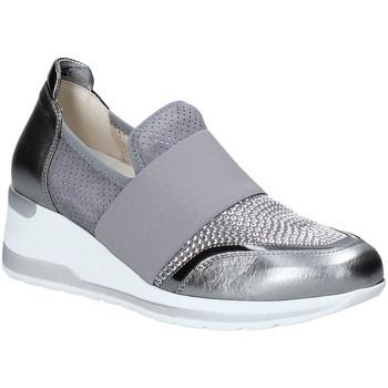 Topánky Ženy Slip-on Melluso R20413 Striebro