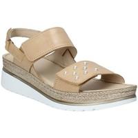 Topánky Ženy Sandále Melluso 019080F Hnedá