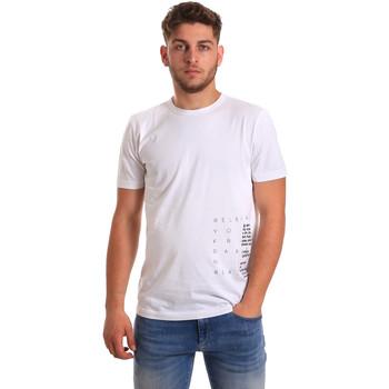 Oblečenie Muži Tričká s krátkym rukávom Antony Morato MMKS01223 FA100144 Biely