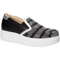 Topánky Ženy Slip-on Exton E02 čierna