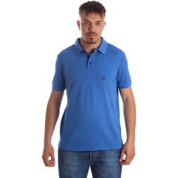 Oblečenie Muži Polokošele s krátkym rukávom Gaudi 911BU64063 Modrá