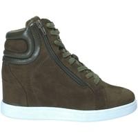 Topánky Ženy Členkové tenisky Fornarina PI18EL1147S034 Zelená