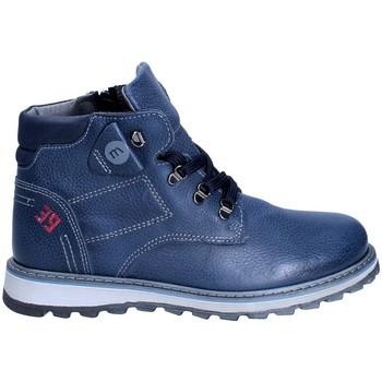 Topánky Chlapci Polokozačky Melania ME6029F8I.B Modrá