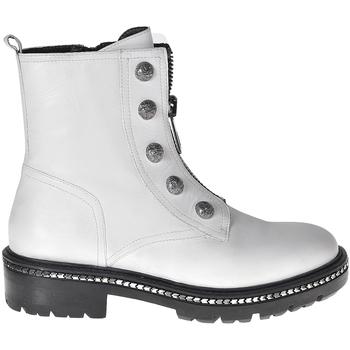 Topánky Ženy Polokozačky Elvio Zanon I6507G Biely