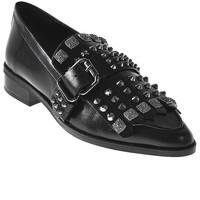 Topánky Ženy Mokasíny Elvio Zanon I7704G čierna