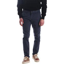Oblečenie Muži Nohavice Chinos a Carrot Automatic PAU22172 Modrá