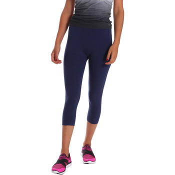 Oblečenie Ženy Legíny Key Up 5LI23 0001 Modrá
