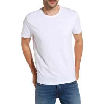 Oblečenie Muži Tričká s krátkym rukávom Wrangler W7500F Biely