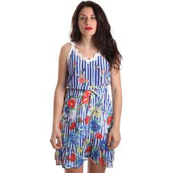 Oblečenie Ženy Krátke šaty Fracomina FR19SP563 Modrá
