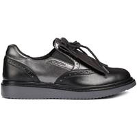 Topánky Dievčatá Mokasíny Geox J844FE 054AJ čierna