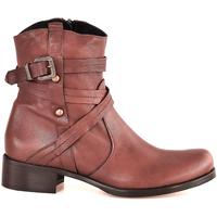 Topánky Ženy Čižmičky Mally 6431 Hnedá