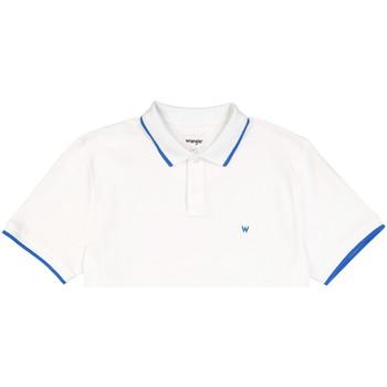 Oblečenie Muži Polokošele s krátkym rukávom Wrangler W7D5K4989 Biely