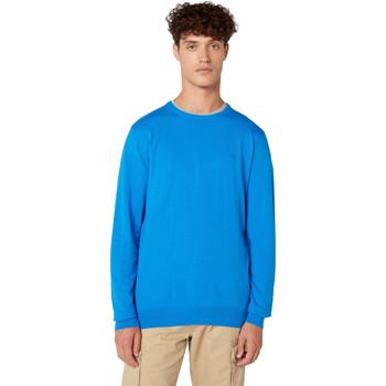 Oblečenie Muži Svetre Wrangler W8A0PDXKL Modrá